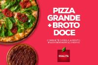 Pizza Grande + Broto Doce