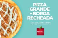 Pizza Grande e Borda Recheada
