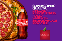 Supercombo 2 Pizzas + Refri 2L